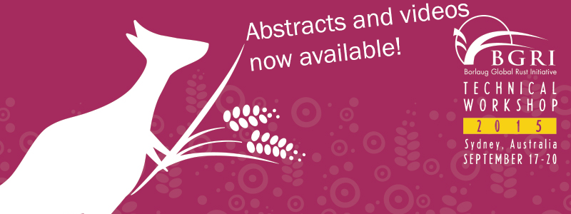 BGRI 2015 with abstracts and videos